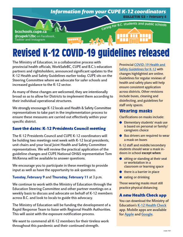 thumbnail of Final-Feb-4-Bulletin-Safety-Guidelines-Revised
